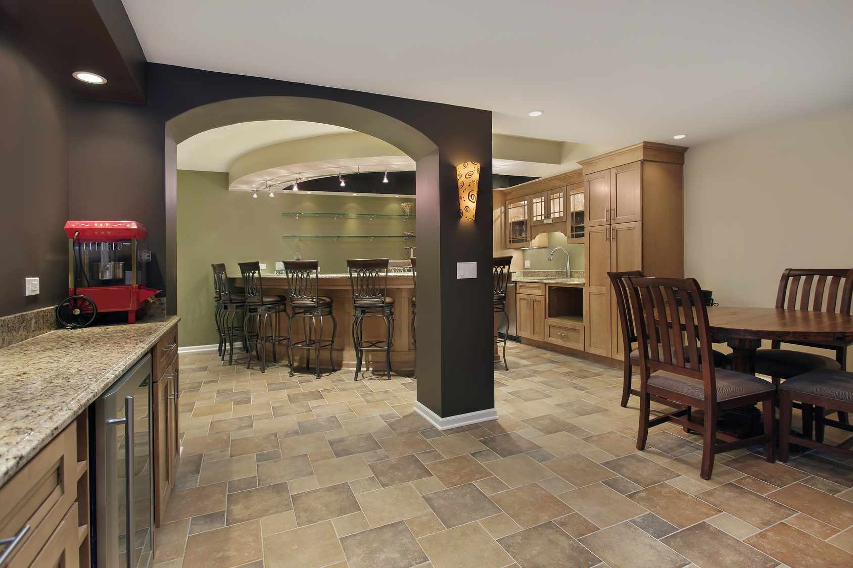Basement Remodel in Plainfield, IL - JW Construction & Design Studio Services