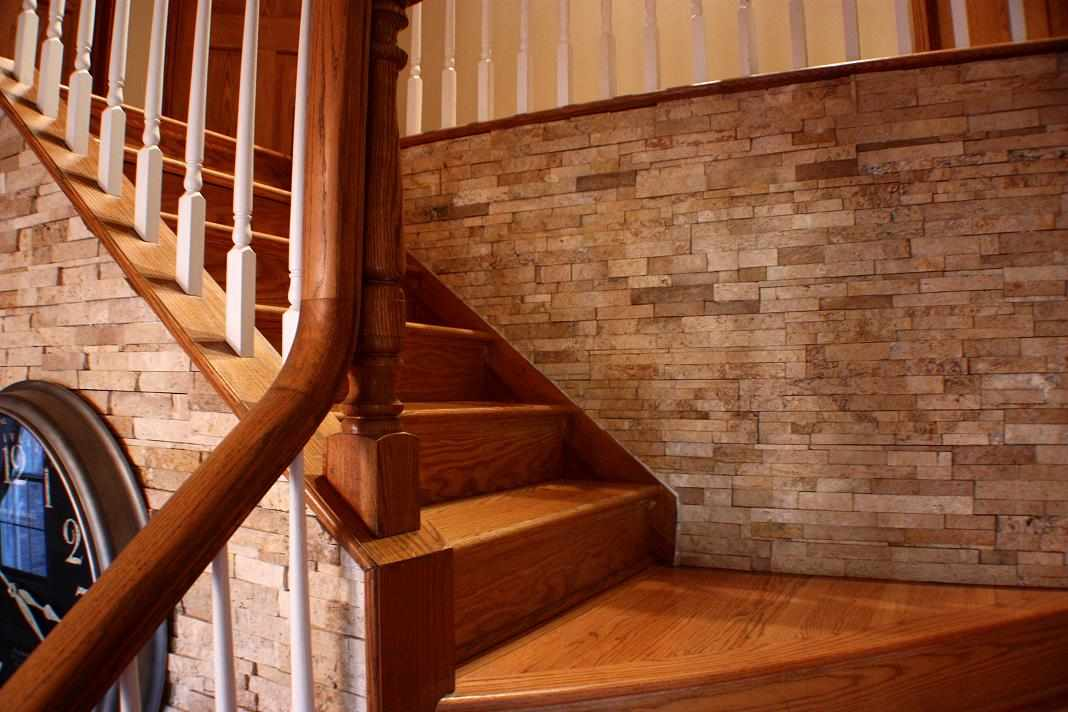 Hardwood Stairs - JW Construction & Design | Naperville Home Improvement