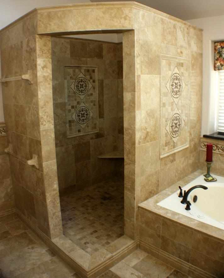 Shower Stall Tile Installation Chicago - JW Construction & Design Services