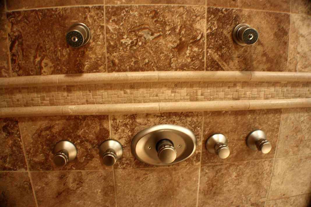 Shower 6-Panel Plumbing Naperville - JW Construction & Design Services