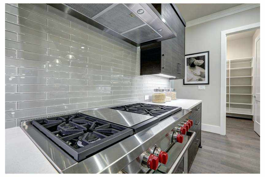 Marble Kitchen Backsplash Remodel, Naperville - JW Construction & Design Services